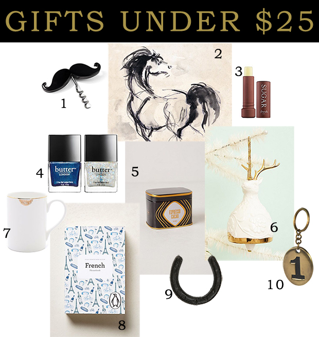 holiday gift guide under 25 chicago personal shoppers