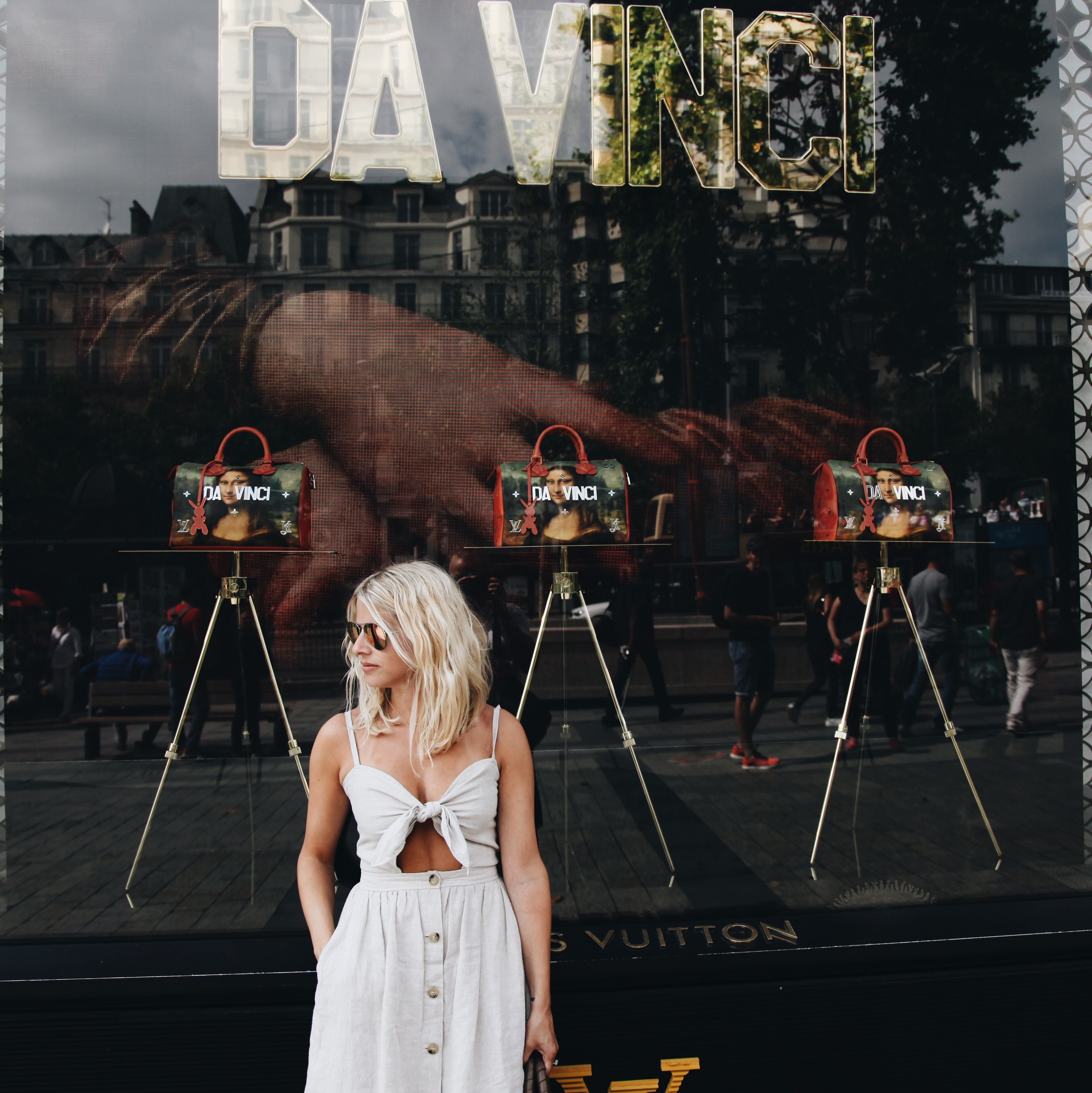 Louis Vuitton x Davinci