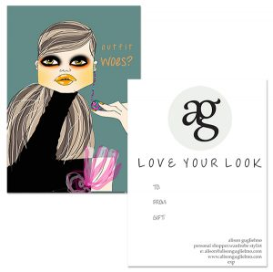 Personal Shopping and Wardrobe Styling Gift Certificates